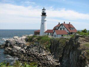 A Maine állambeli Portland kikötője