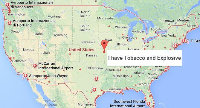 Az amerikai reptéri biztonságiak nem veszik jó néven a humort