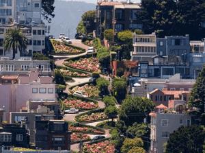 Lombard Street, San Francisco - USA ESTA