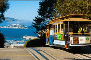 Cable Cars, San Francisco - vízum USA