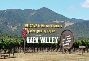 North Coast Wineries borvidék, USA