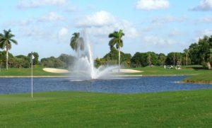 Golfpálya Floridában - USA vízum