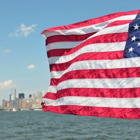 Az USA zászlaja