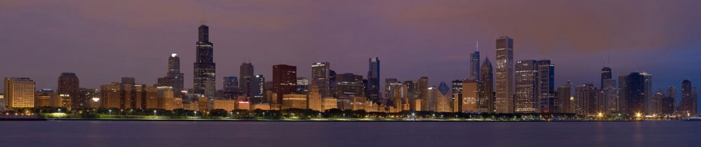 Chicago – esti városkép