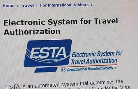 ESTA - Elektronikus Beutazás Engedélyezési Rendszer
