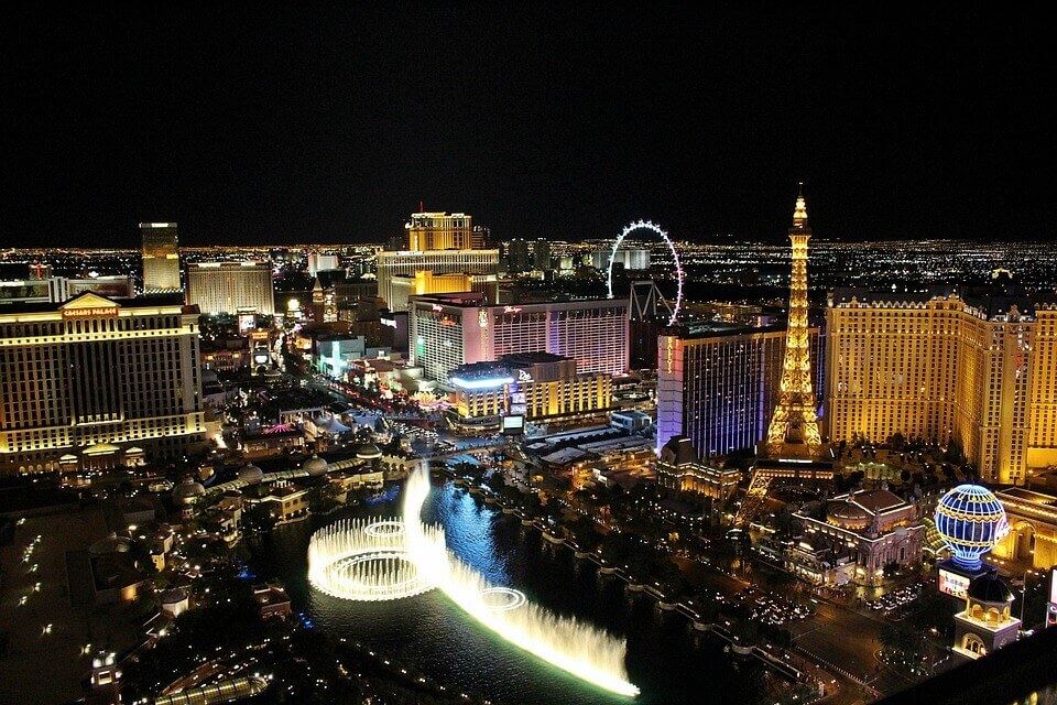 Las Vegas éjszaka