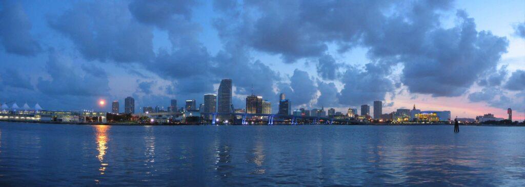 Miami látképe