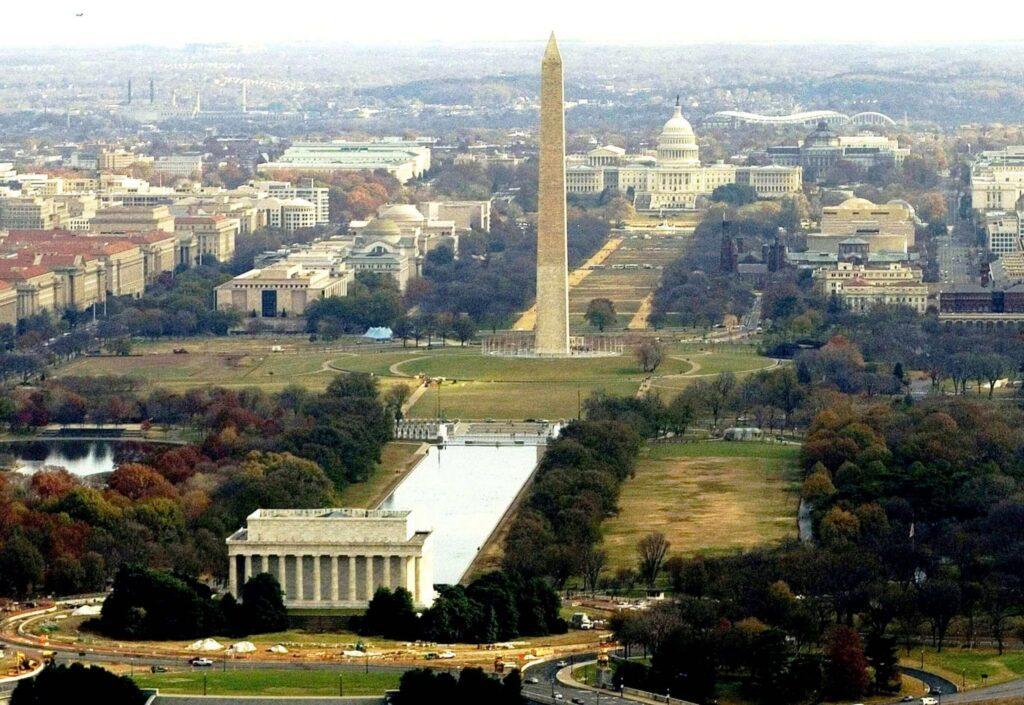 Sétálj egyet a gyönyörű National Mall-on!