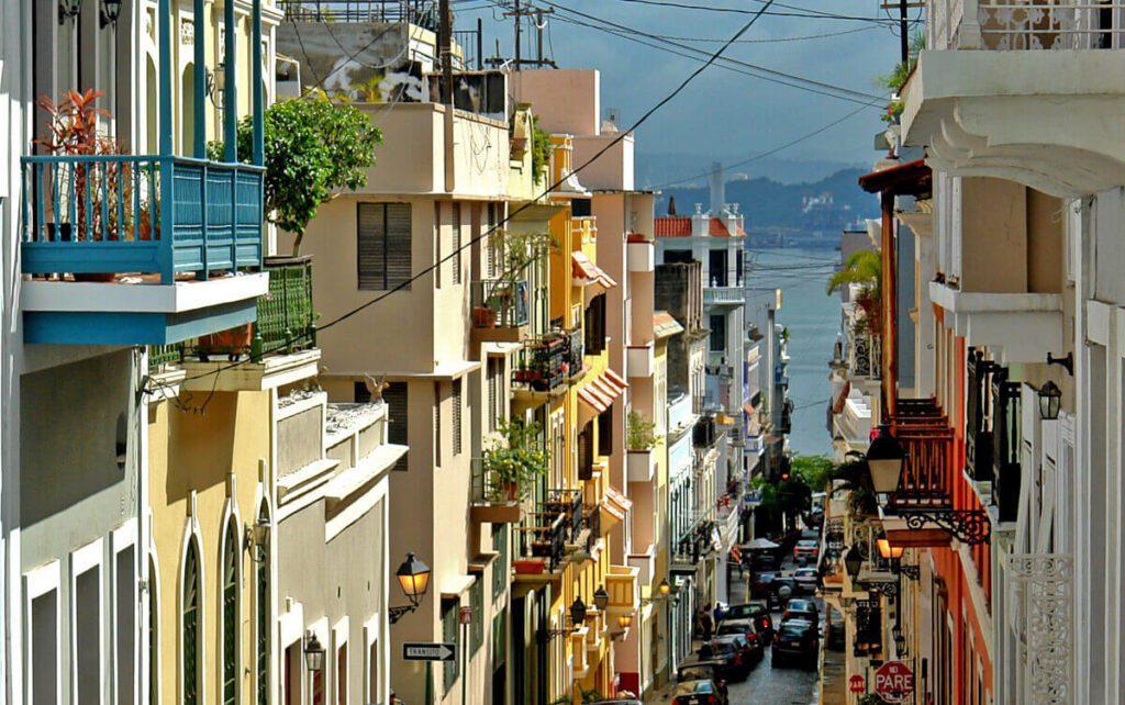 Utca Puerto Ricoban