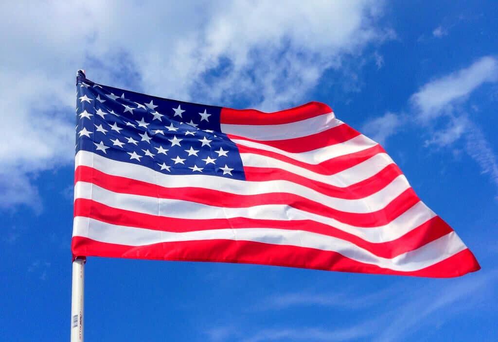 USA nemzeti lobogója