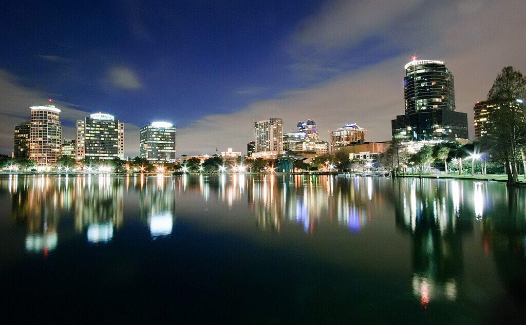Orlando belvárosa