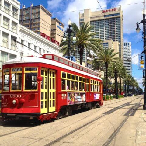 Canal Street New Orleans-ban