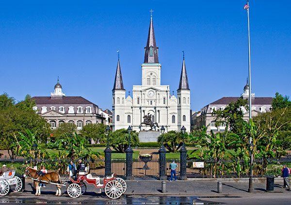 Canal Street New Orleans egyik legemblematikusabb utcája