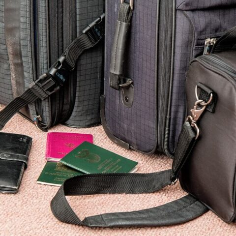 Bőröndök - utazás az USA-ba